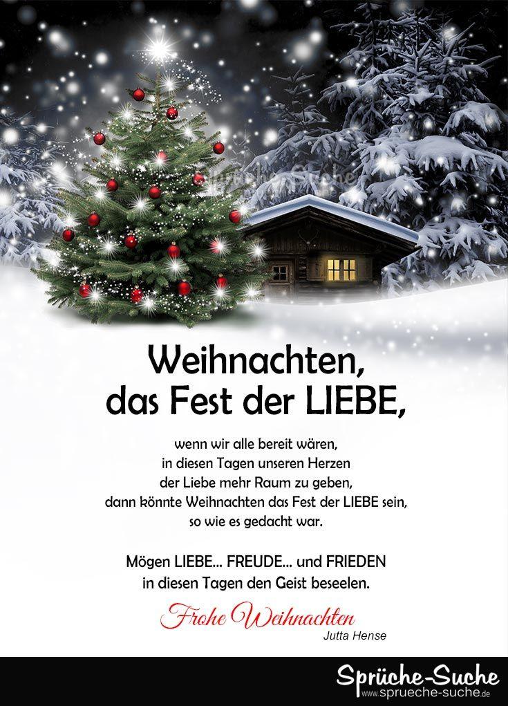Das Weihnachten.Weihnachten Das Fest Der Liebe Gedanken Wünsche Dies Das