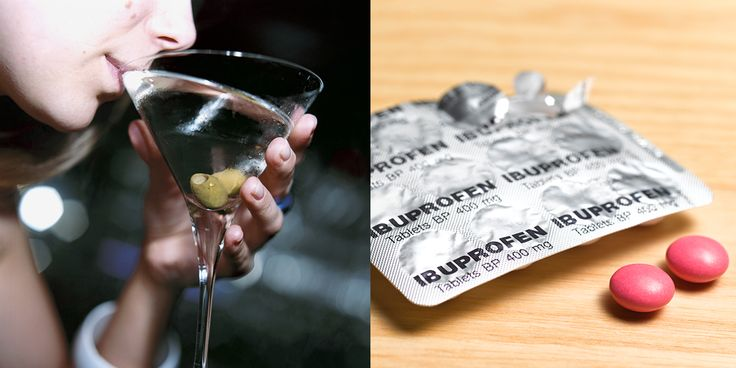 Why You Should Avoid Taking Ibuprofen When You're Drinking