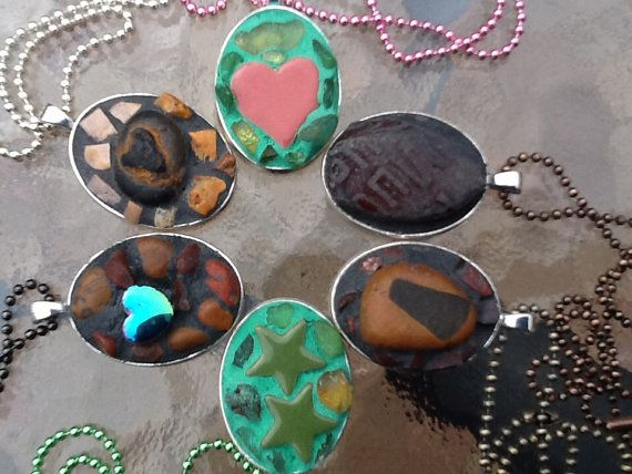 Necklaces 6 designs or commission your own. by MosaicmagicArt, $25.00