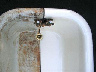 Restore Bathtub Kit White Tub And Tile Refinishing Kit - Clawfoot tub restoration kit
