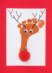 A fun and physical Christmas craft activity!