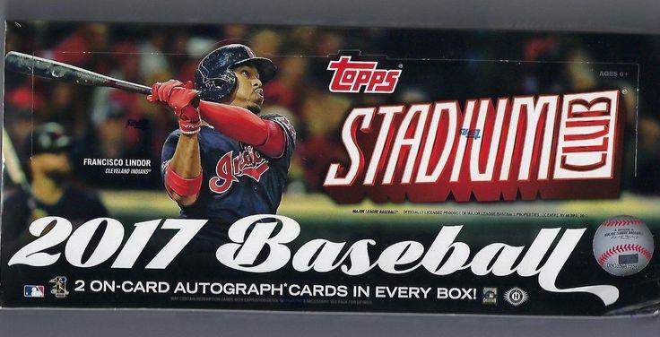 Baseball Cards 213: 2017 Topps Stadium Club Baseball Factory Sealed Hobby Box 2 Autos! -> BUY IT NOW ONLY: $109.99 on eBay!