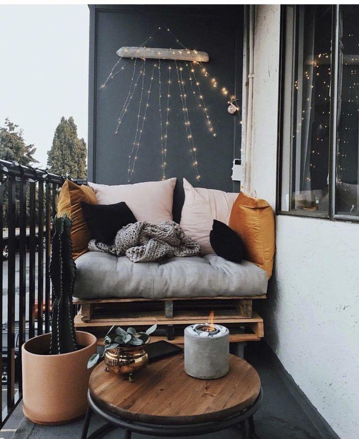 Vielzahl von Balkon-Design
