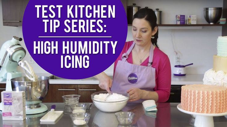 Summer's high humidity can make your icing and piped decorations wilt and droop. This recipe will help Want more tips? Subscribe: http://s.wilton.com/10vmhuv...