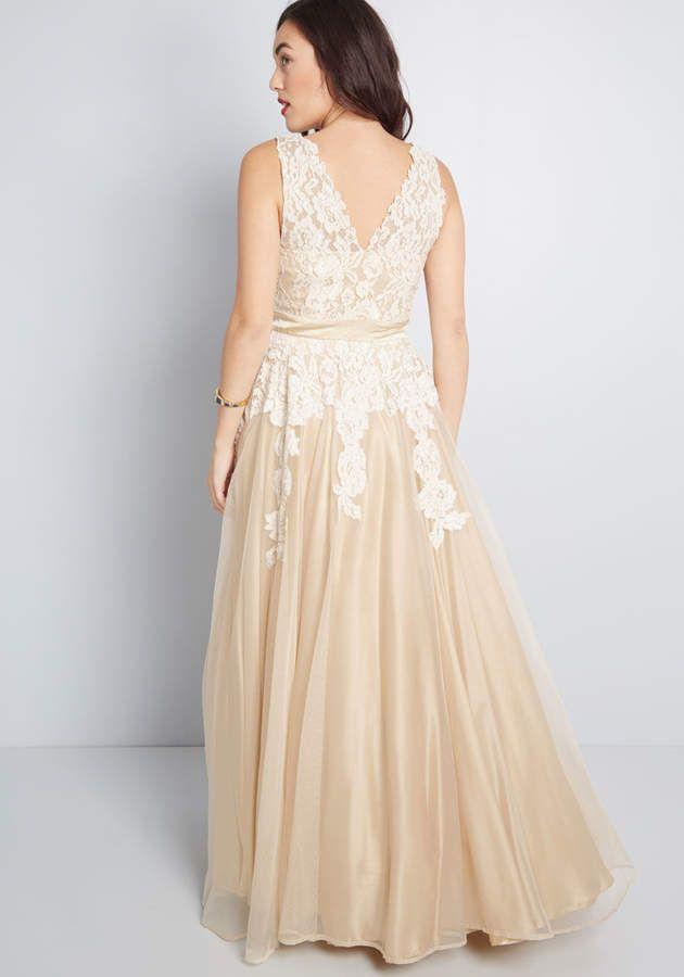 898496ff48dd ModCloth East End Apparels Memorable Magic Maxi Dress in Tea  Apparels  Memorable ModCloth