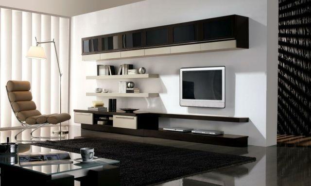 meuble télé design laquée
