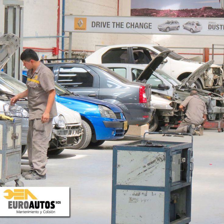 Para que tu carro #Renault siempre esté en óptimas condiciones tráelo a nuestro concesionario #EuroAutosRenault en donde los repuestos son originales y tenemos expertos para cada necesidad de tu vehículo. Estamos ubicados en la calle 16 # 45 164, Medellín tel: (4) 3122929