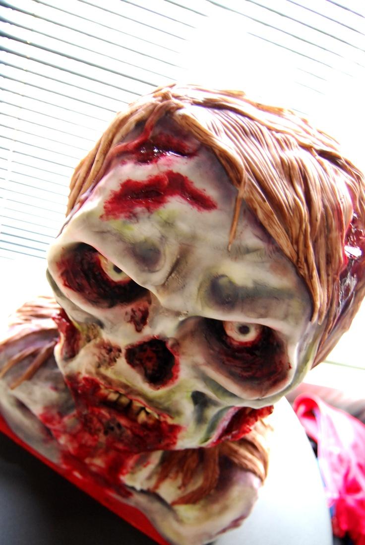 Zombie cake                                                                                                                                                                                 More