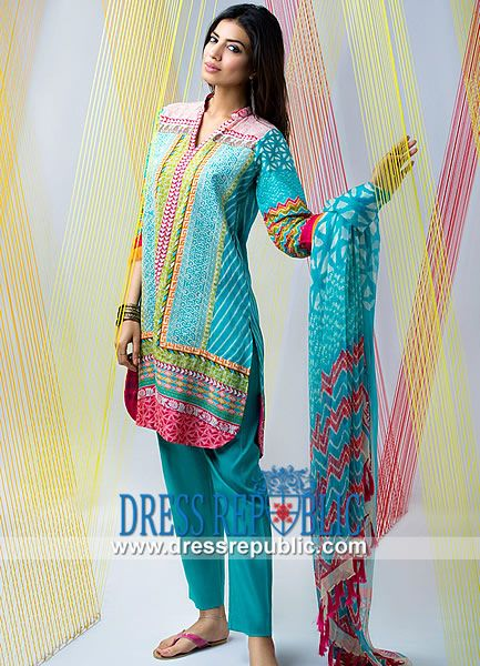 Khaadi Khaadi Lawn 2014 for Spring/Summer  Summer Lawn Collection 2014: Khaadi Khaadi Lawn 2014 for Spring/Summer in Wolverhampton n Manchester, UK. We are one of the largest lawn clothes Retailer/Wholesaler. by www.dressrepublic.com