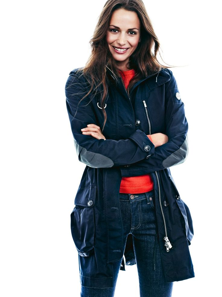 Brera #Parka #navy #fashion #women. www.snoot.se