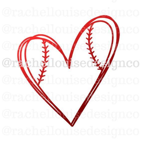 Baseball Heart Svg Baseball Heart Dxf Baseball Heart Png Etsy In 2020 Cricut Svg Sign Design