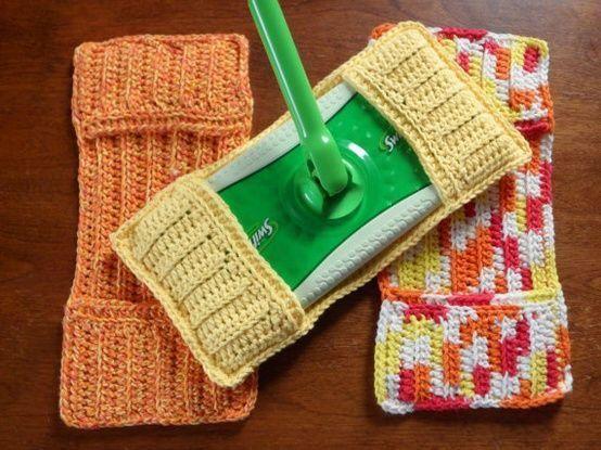 余った毛糸で床掃除シートをDIY!何度も洗って使えるエコモップの作り方 ページ1 | CRASIA(クラシア)
