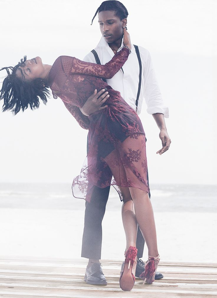 ASAP Rocky, Chanel Iman, and the Best Date Night Dresses of Fall 2014 - Vogue