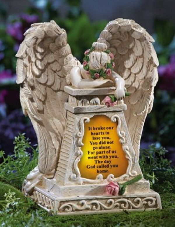 Solar Memorial Angel Statue Solar Memorial Angel Statue Is