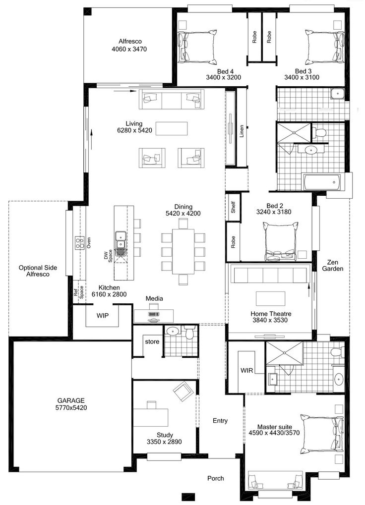 Superieur Gentil Masterton Home Floor Plans