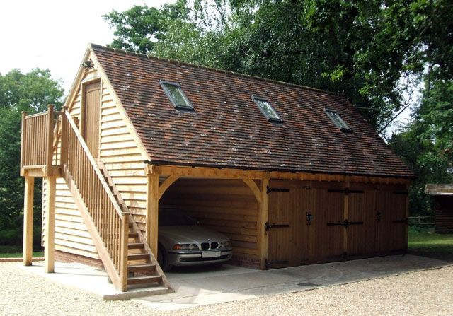 Best 25+ Timber Frame Garage Ideas On Pinterest