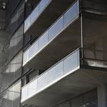FAENA ALEPH RESIDENCES. El hormigón visto se expresa en todo el edificio. (Foto: Steve Benitsy)