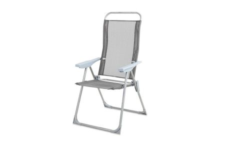Ideal for camping and relaxing in the garden. The solid made Ashton Multi Positon Chair is very comfortable with its high adjustable back rest.
