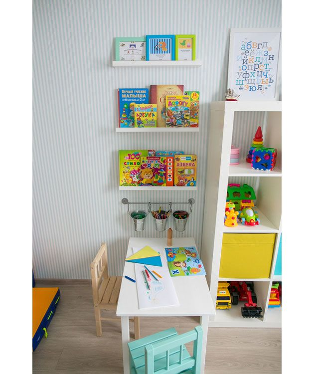 Детская комната для мальчика. Бирюзовый цвет | http://www.babyroomblog.ru/