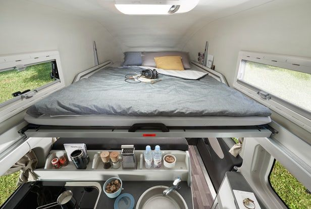Westfalia Squeezes A Private Toilet Into Its Latest Ford Transit Camper Van Ford Transit Camper Transit Camper Ford Transit