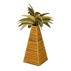 Pudełko TROPIKALNA PALMA z kokosami. Idealne na chrzest, roczek, baby shower, gender party, kinder party. Inspiracje. pakoria.pl Inspiration, coconut, palm tree party box.