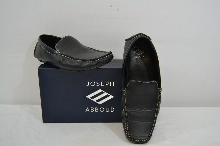 a17cc70ac63 Joseph Abboud Shoes Men s Solomon Black Leather 12D Slip-on Loafers