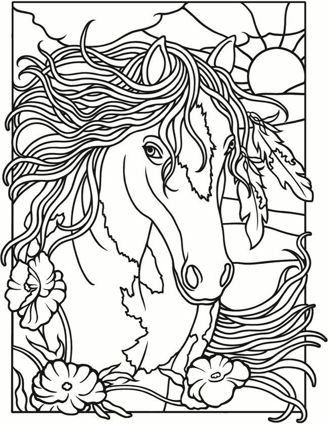 50 best Horse Coloring Pages images on Pinterest Horse coloring