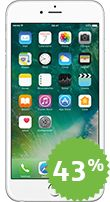 Apple iPhone 6 Plus Color Plata 16GB