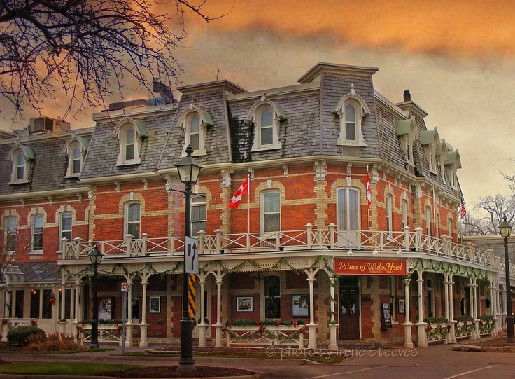The Prince of Wales Hotel, Niagara on the Lake, ON, Canada. #Ontario #Canada #travel