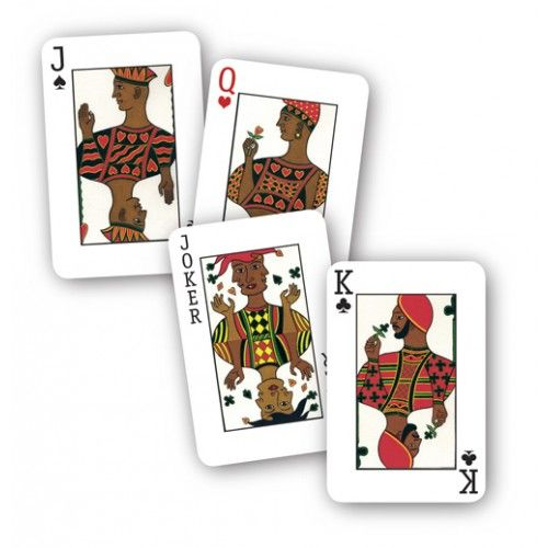 Cross Cultural Playing Cards - One Boxed Deck