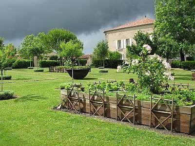 Le jardin du Chaigne. Cliché : DRAC / CID - SB, 2009.