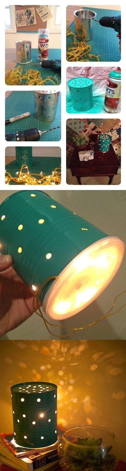 2. Tin Can Lanterns
