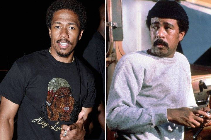 Richard Pryor Jr. gives Nick Cannon blessing to play his dad inbiopic