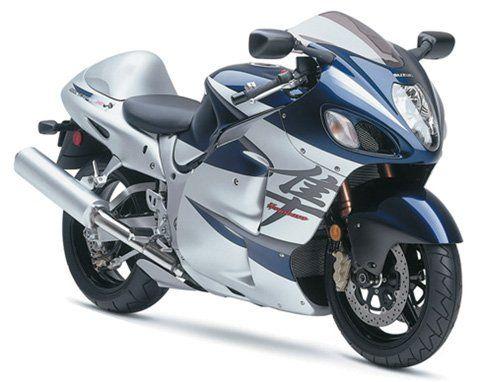 Suzuki Gsx R Hayabusa Scale Diecast Motorcycle By Newray Blue