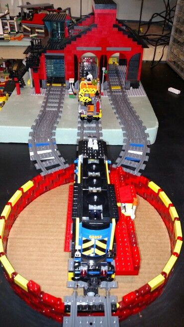 lego train turntable instructions