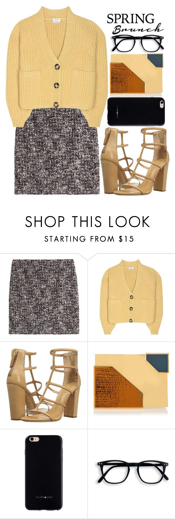 """""""Untitled #1963"""" by fashionista-sweets ❤ liked on Polyvore featuring The Kooples, Acne Studios, Schutz, Lee Savage and Felony Case"""