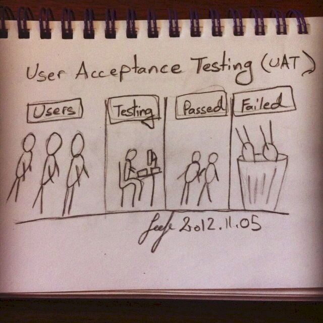 How is your User Acceptance Testing going? Are your users passing or failing?