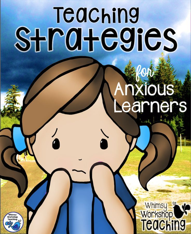 A list of specific strategies for teaching concepts to anxious students.