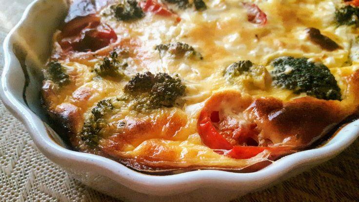 Feta-kasvispiirakka - Feta-vegetable pie
