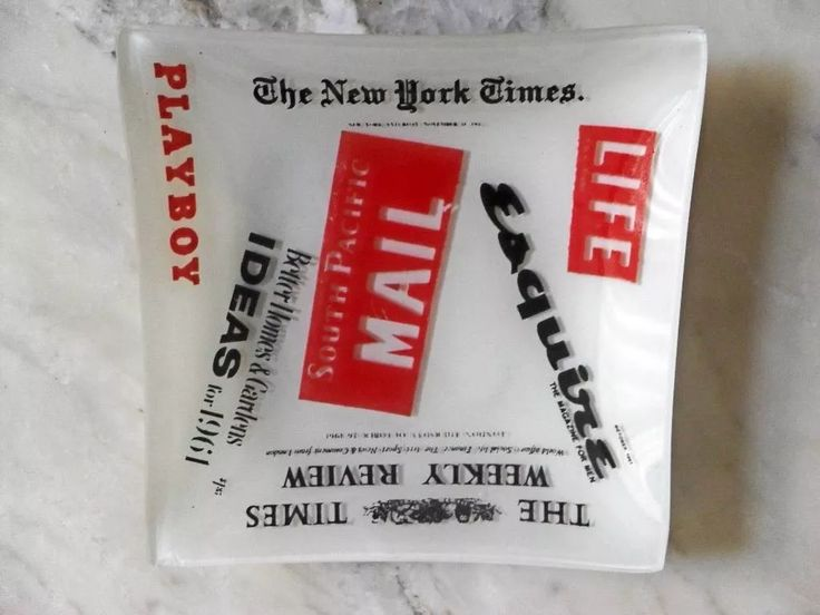 Decoração Vintage Playboy New York Tme Marca Jornal - R$ 45,90 em Mercado Livre - ashtrail
