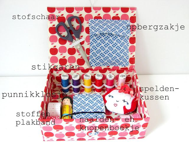 Sewing box for a young seamstress - Elisanna