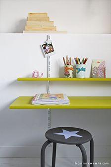 bonnesoeurs decoration bureau 01 le grenier s emancipe bureau mural hauteur reglable