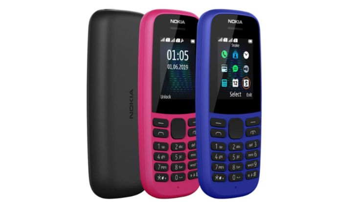 Nokia 105 (2019) With Up to 25 Days Standby Time Launched in