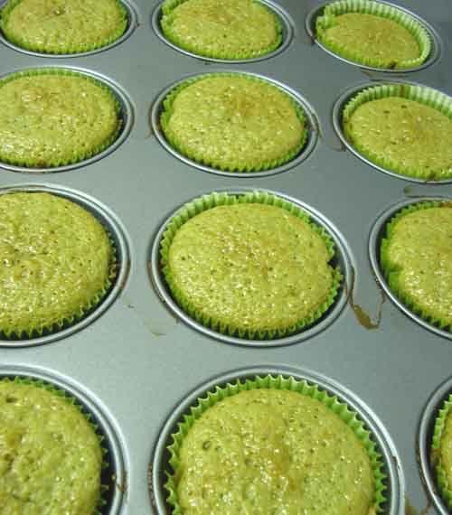 magdalenas veganas de te verde