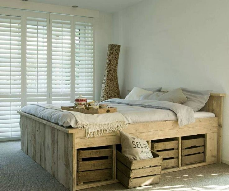 Mooi houten bed