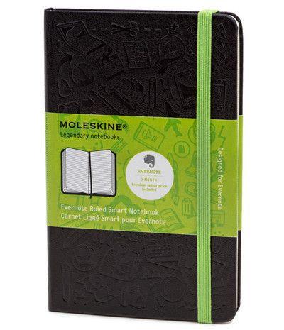 Moleskine + Evernote = brilliant