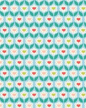 Benartex - Love Flowers