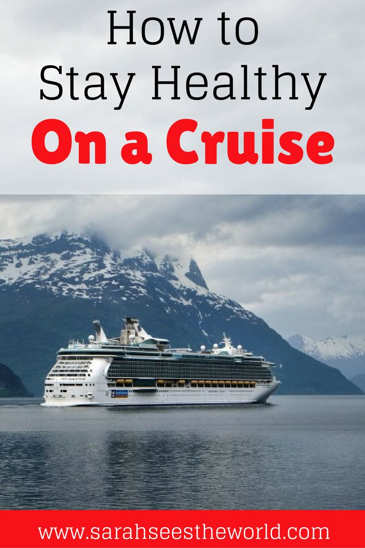 Going on a cruise doesn't mean you have to give up your workouts or healthy lifestyle. Check out 5 ways you can stay healthy and active while on a cruise! You'll want to save this to your travel board.