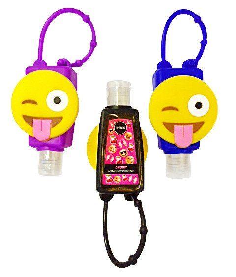 Emoji Hand Sanitizer Holder