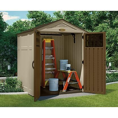 Beau $631.74   6x5 Craftsman Resin Shed